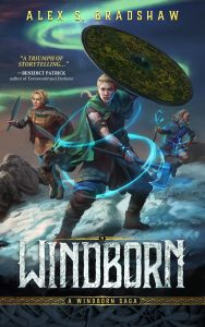 The cover of Windborn